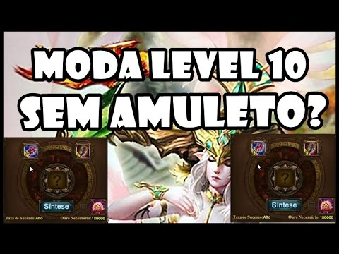 Legend Online: Moda Level 10 Sem Usar Amuleto???