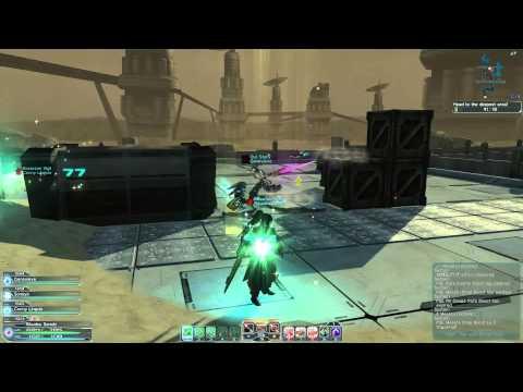 Phantasy Star Online 2 Special Survey Desert