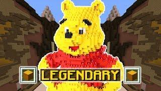 LEGENDARY WINNIE THE POOH (Minecraft Build Battle)