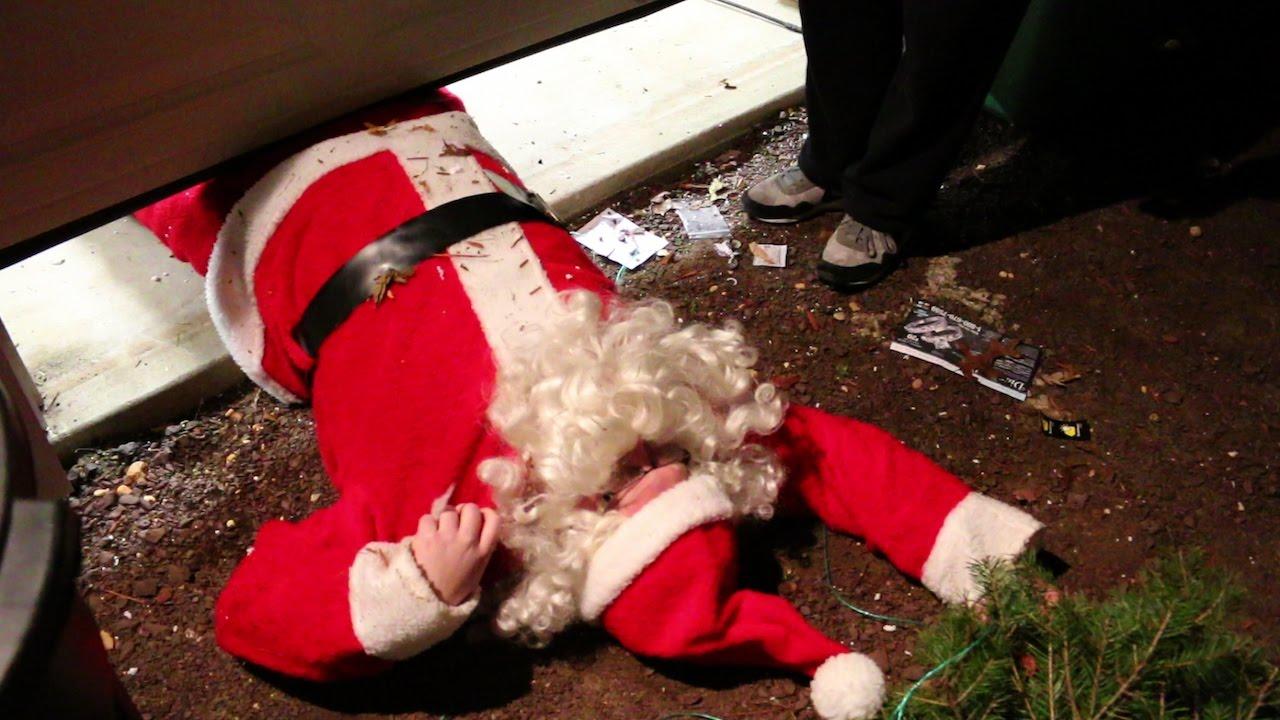 the night i killed santa claus youtube
