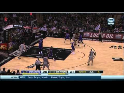The Rudy Gay Effect: How The Kings Almost Beat Manu and the Spurs