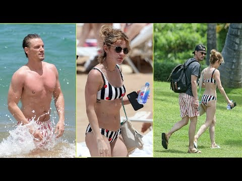 Lucy Hale Hits The Beach With 'Life Sentence' CoStar Riley Smith in Hawaii