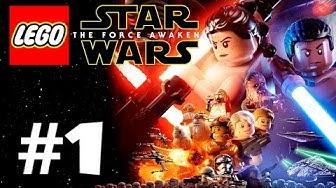 Lego Star Wars: The Force Awakens - Läpipeluu Osa 1 Endorin Taistelu