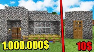 КАКОЙ ДОМ ЛУЧШЕ ЗА 10$ ИЛИ ЗА 10 000 000$ ТАКОГО НЕ МОЖЕТ БЫТЬ! МАЛЕНЬКИЙ ДОМ ЛУЧШЕ - ТРОЛЛИНГ