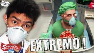 TRASPLANTE DE OJOS EXTREMO !! - Surgeon Simulator: Anniversary Edition