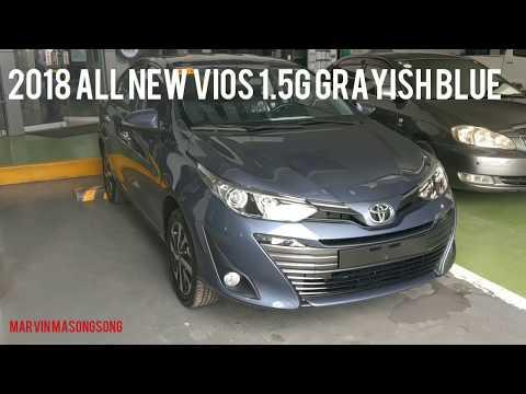 Toyota VIOS 1.5 G(Hi-end) | Grayish Blue | Walk around (Philippines)