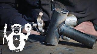 Тавровое соединение труб газосваркой - Территория сварки