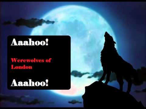 Werewolves of London  Lyrics