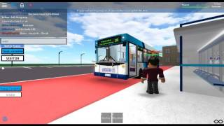 Railfanning on Roblox | New Breed; ALX200 Bus 19 in service - Woodbrook Bus Simulator #2
