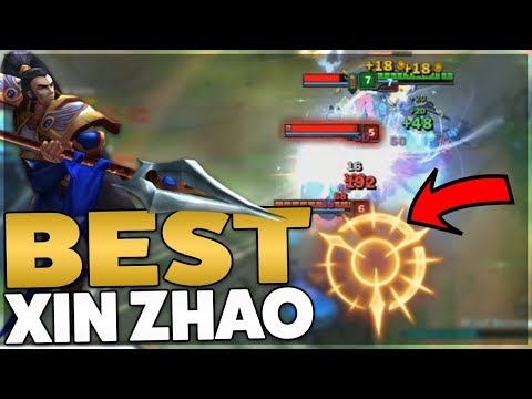 BEST XIN ZHAO BUILD & RUNES SEASON 8 | END THE GAME IN 10 MINUTES - League of Legends