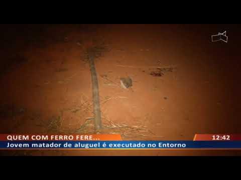 DFA - Jovem matador de aluguel é executado no Entorno