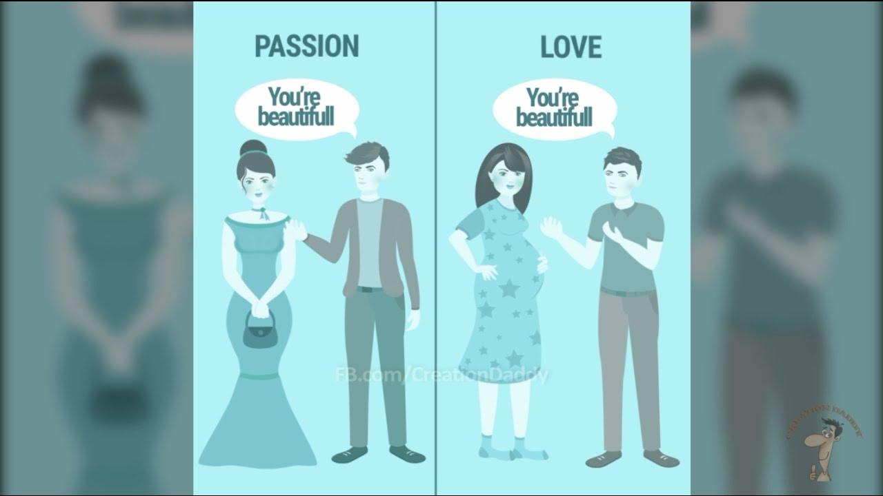 Love, affection, passion. What is the difference