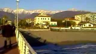 Marina di Massa, il pontile.