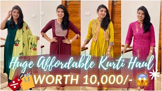 Huge Affordable Ethnic Haul from Amazon!?Designer Kurti Sets Under BudgetWestern Wear,Shoes&ampMore