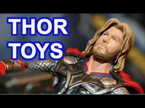 Thor Toys Marvel Thor Movie Toys Minimates Preview - 동영상