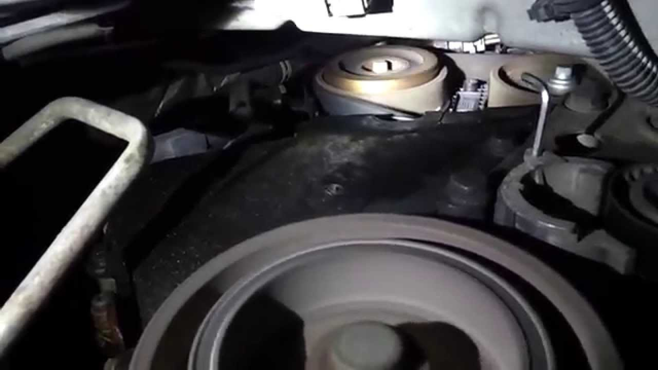 Peugeot 807 SR 20 04 EW10J4 RFN Timing Belt noise  YouTube