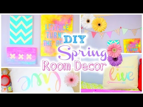 DIY Room Decorations for Spring | Tumblr Inspired
