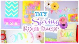 Zapętlaj DIY Room Decorations for Spring | Tumblr Inspired | JENerationDIY