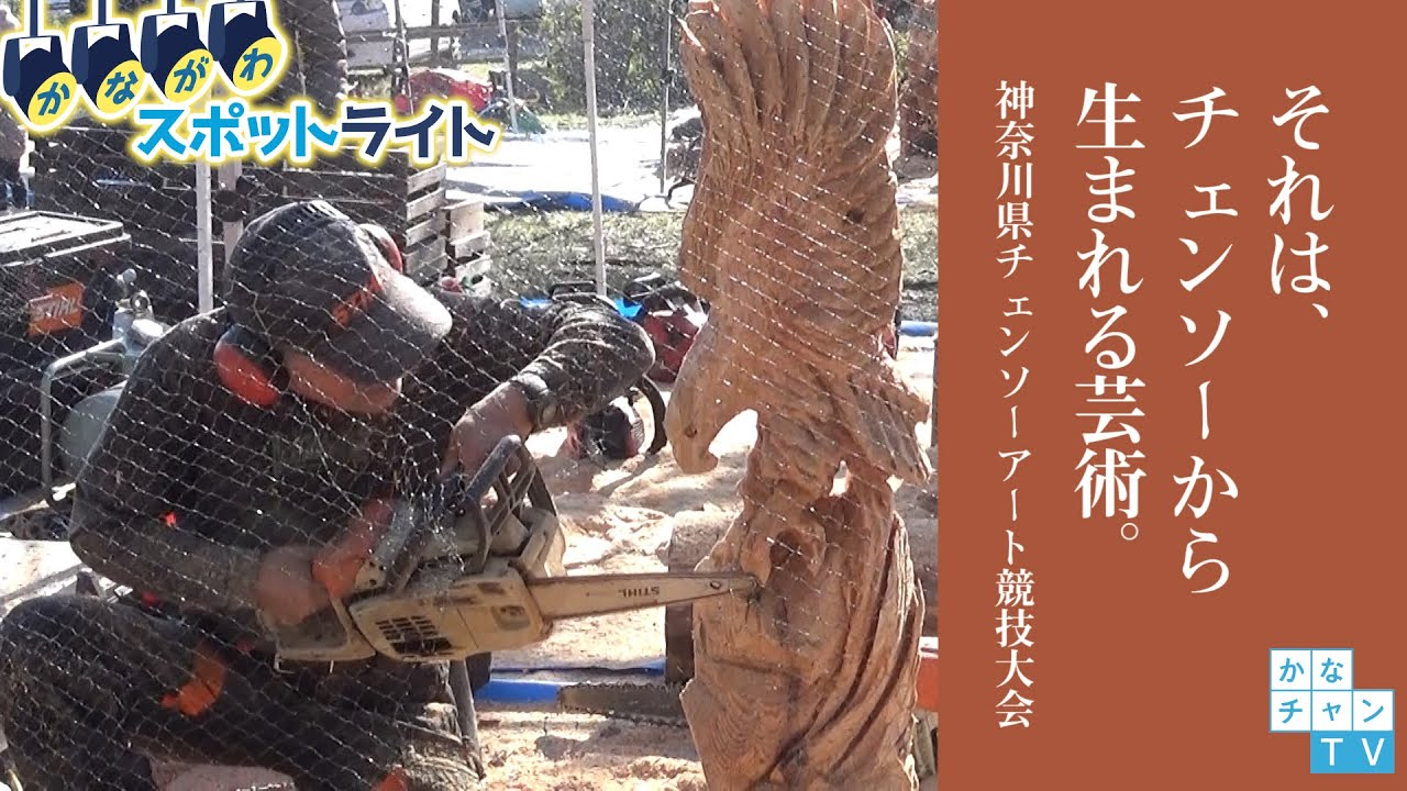 それは、チェンソーから生まれる芸術。-神奈川県チェンソーアート競技大会ー