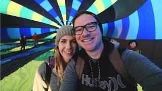 EPIC SUNRISE HOT AIR BALLOON RIDE!!! TEMECULA CALIFORNIA | vlog 74