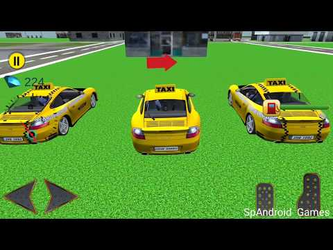 City Taxi Driver 3D Game 2017 - Android Gameplay Full HD