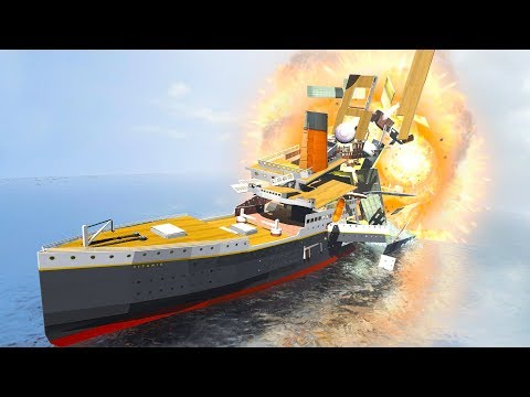 DESTROY THE TITANIC  Disassembly 3D