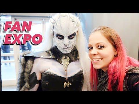 Fui mais um ano na Fan Expo em Vancouver