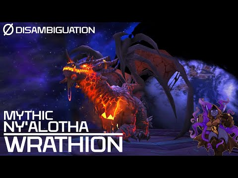 Disambiguation - Mythic Ny'alotha -  Wrathion