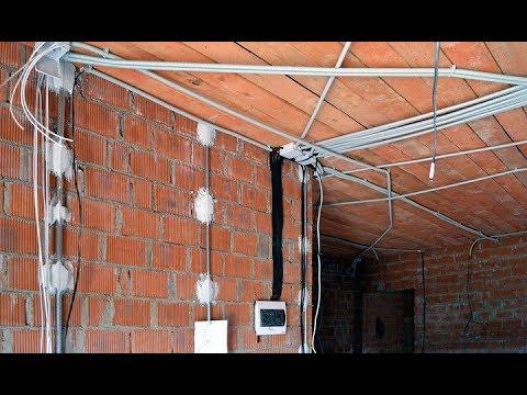 ★Как правильно и безопасно прокладывать электропроводку в доме. Где разместить розетки и выключатели