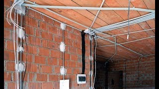 видео Как правильно установить электрическую проводку в доме