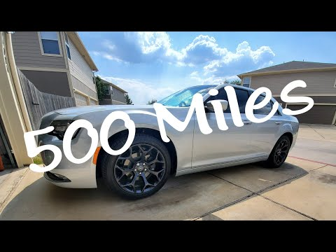2019 Chrysler 300s | 500 Miles later!
