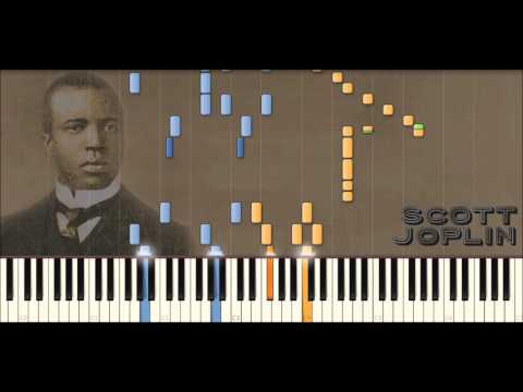 Scott Joplin Piano Rags: The Cascades | Ragtime #30 (Piano Tutorial)