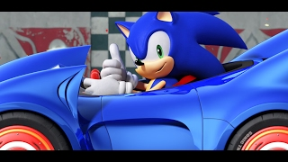 """Sonic SEGA All Stars Racing CHAPTER """"Egg Cup"""" Nintendo Wii Racing Games Videos Games for Kids"""