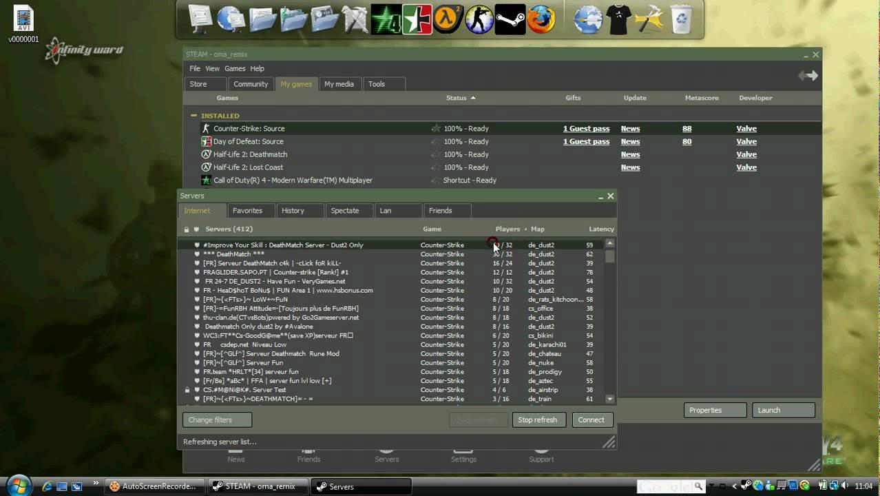 Сервера noт steam для css топ 100 сайтов порна