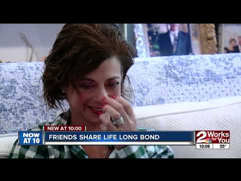 Friends share lifelong bond after kidney transplant