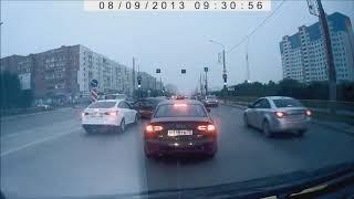 Подборка аварий на видеорегистратор  ДТП Сar crash compilation