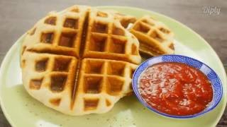 Delicious Pizza Waffles!