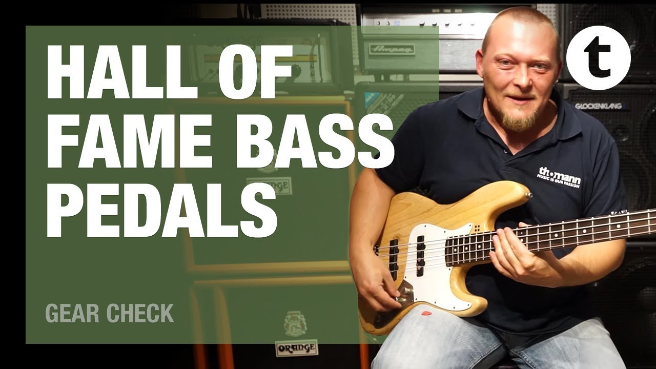 Hall of Fame: Top 5 Bass Pedals | Thomann