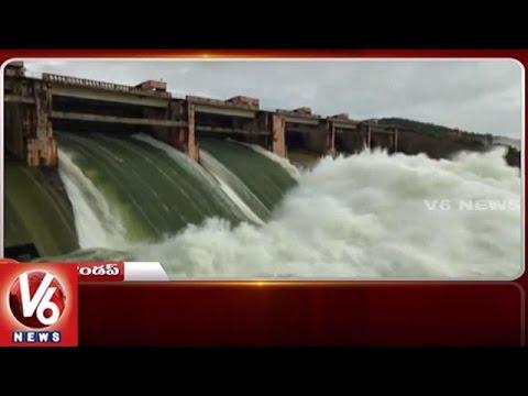 Kadem Project Water Level Increased | She Team Awareness Program | Telangana State Roundup | V6 News