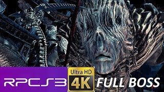RPCS3 Dantes Inferno Judge of the dead full boss fight on pc upscaled to 4k.