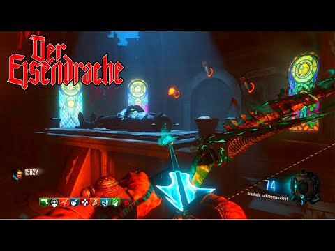 """BLACK OPS 3 ZOMBIES """"DER EISENDRACHE"""" ALL 4 UPGRADED BOWS EASTER EGG! (BO3 Zombies)"""