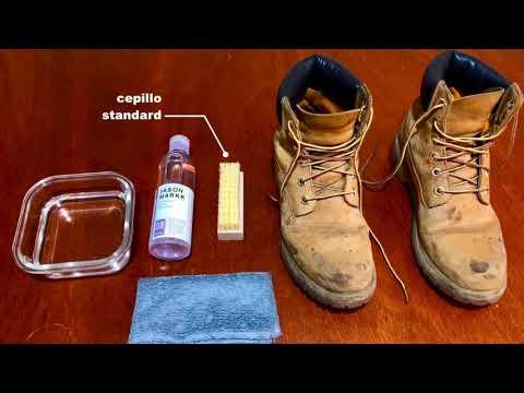 Limpieza de botas TIMBERLAND