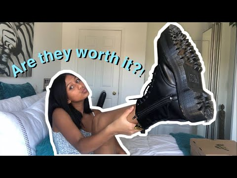 My Honest Opinion On DOC MARTENS | Breaking Them In, Sizing, Quality |