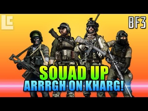 Kharg Island Flag Trekking - Squad Up (Battlefield 3 Gameplay/Commentary)