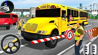 School Bus Driver Simulator - City Coach Bus Driving - Android GamePlay