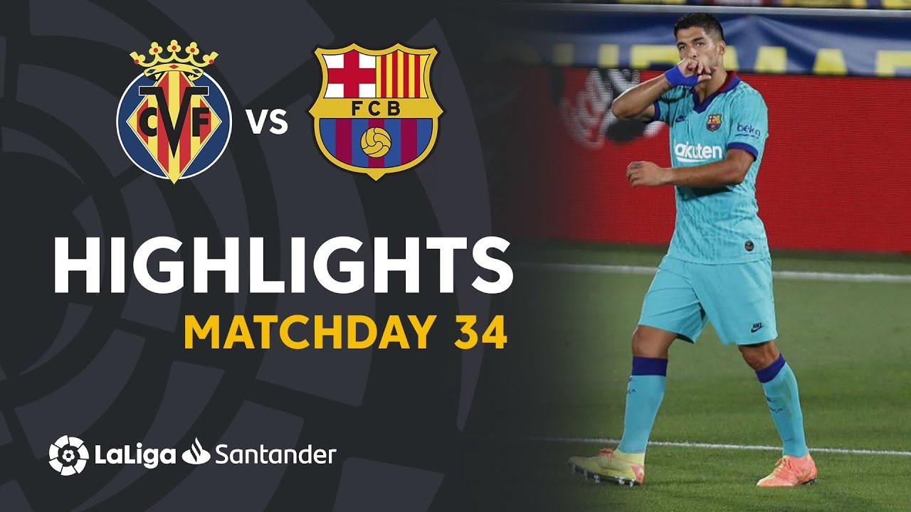 Download Highlights Villarreal CF vs FC Barcelona (1-4)