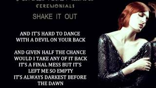 Baixar - Florence The Machine Shake It Out Lyrics Grátis