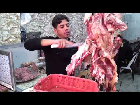 DELICIOUS!: Kebab barbecue in Iraq HD