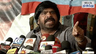 T Rajendar Press Meet On Jayalalitha Release | Tamil The Hindu