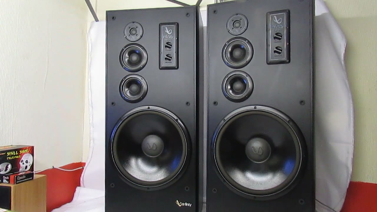Infinity Speakers Sm 152 Studio Monitors 15 Quot Woofers 10